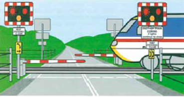 Dealing with Railway Crossings and Tramways
