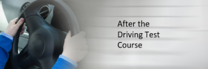 Course after the test